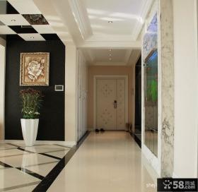 现代风格进门玄关装修效果图欣赏