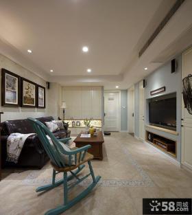 美式风格两室两厅家居装修图片欣赏