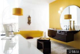萤黄色打造现代简约风格复式楼儿童房装修效果图大全