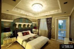 欧式主卧室装修效果图大全2013图欣赏