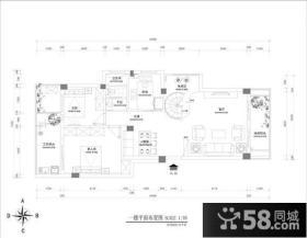 三层流水别墅平面设计图
