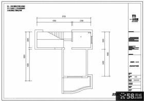 复式楼二楼户型图