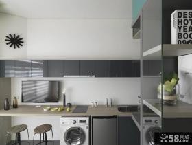 家居半开放式厨房设计