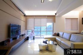 80平米现代风公寓室内设计图片