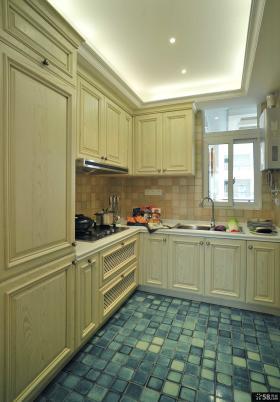 浪漫简欧风格家装厨房