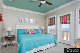 优质地中海卧室装修效果图大全2013图片