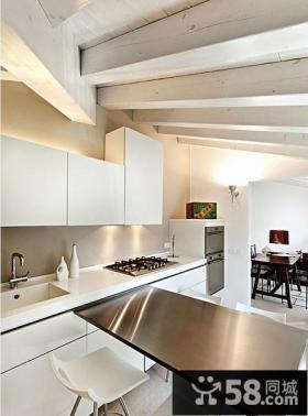 斜顶小阁楼装修效果图 欧式斜顶阁楼卧室装修设计图片