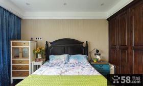 欧式复古家装卧室设计装饰效果图