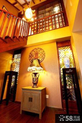 独栋中式别墅设计效果图