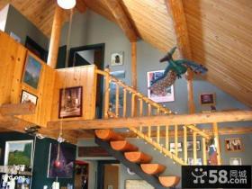 顶层阁楼楼梯装修