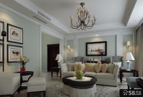 简欧式客厅吊顶效果图大全2013图片