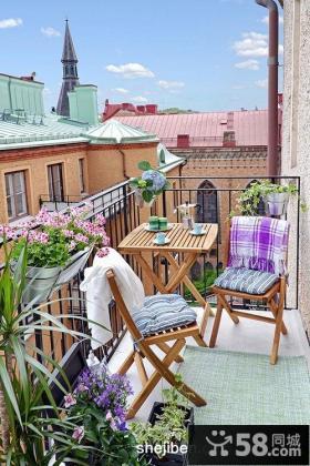卧室小阳台装修效果图