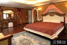 欧式风格别墅卧室家具图片欣赏
