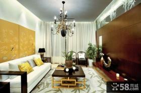 儒雅古典新中式别墅装潢案例