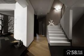现代家庭楼梯设计图片大全
