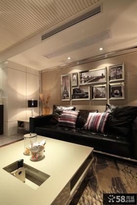 优质现代家庭客厅装修效果图大全
