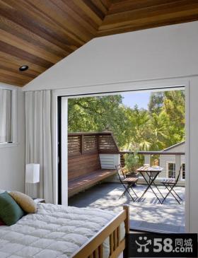 美式家装设计小阳台图片