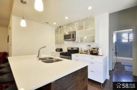 简约家居厨房整体橱柜装修效果图