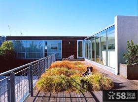 复式装修豪华开放式阳台图片