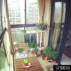 家装阳台设计效果图欣赏