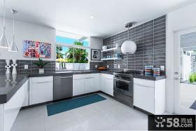 北欧家庭设计厨房效果图大全