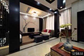 中式家装别墅客厅装修图大全
