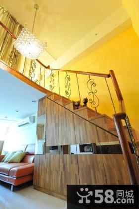 日式风格室内楼梯效果图大全