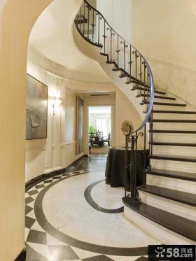 旋转室内楼梯设计图