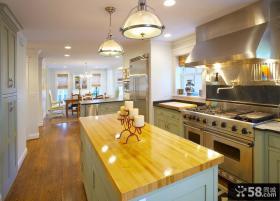 欧式风格厨房整体橱柜装修图