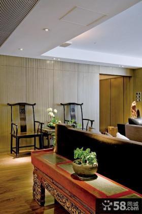 现代日式家装设计吊顶图片欣赏