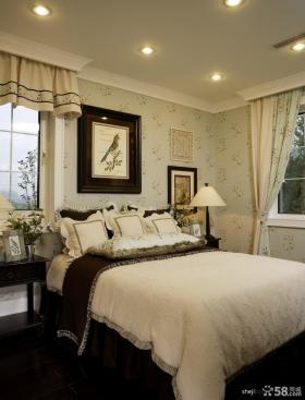 欧式卧室墙纸效果图片大全