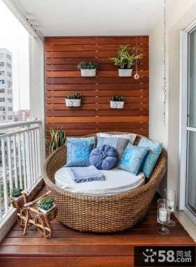 家庭阳台装修图片