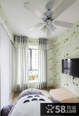 田园风格韩式家装设计卧室