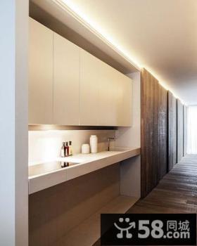 简约现代小公寓室内厨房图片