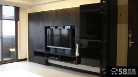 现代家庭设计电视背景墙图大全