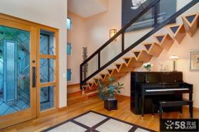 复式楼室内楼梯设计图