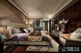 美式风格家庭设计卧室效果图