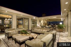 一层别墅庭院设计效果图
