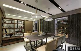时尚现代风格餐厅设计图片