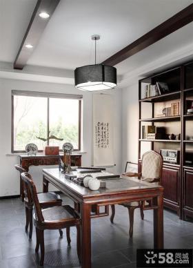 优质中式家居古典书房装修