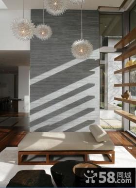 室内阳台榻榻米桌子装修效果图