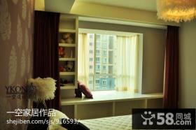 小户型卧室飘窗台面设计