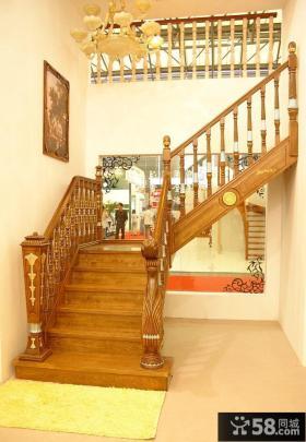 实木楼梯图片欣赏
