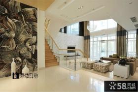 优质复式玄关楼梯装修效果图欣赏