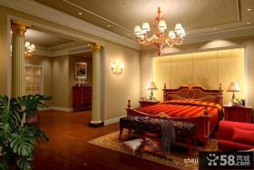 优质欧式别墅卧室装修效果图