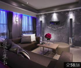 现代风格三室两厅装修图片