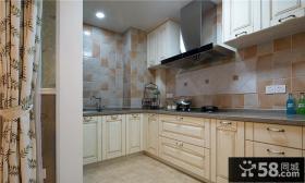 简欧风格家居厨房设计装修效果图