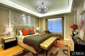 法式别墅主人卧室装修图片