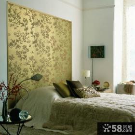 豪华时尚卧室墙纸装修效果图