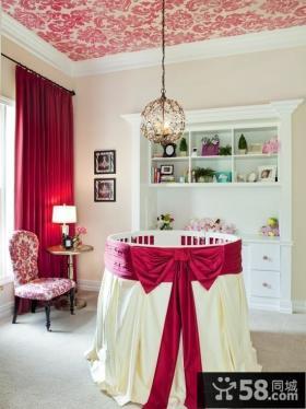 浪漫的圆形儿童房装修效果图大全2012图片